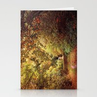 Autumn Weavers Stationery Cards