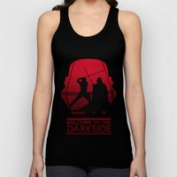 Welcome to the dark side Unisex Tank Top
