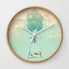 flight to freedom Wall Clock