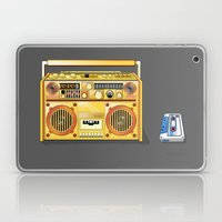 Droid Ghettoblaster Boom… Laptop & iPad Skin
