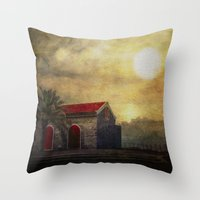 Madeira. Beach House Throw Pillow