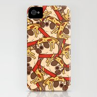 iPhone 4s & iPhone 4 Cases featuring Puglie Pizza by Puglie