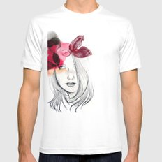Chloé White Mens Fitted Tee SMALL