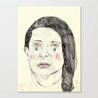 Marina Abramović Canvas Print