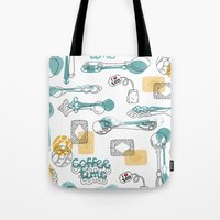 Teaspoon Tote Bag