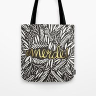 Pardon My French – Gol… Tote Bag