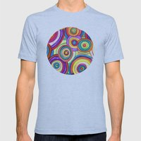 Uneven Universe Mens Fitted Tee Athletic Blue SMALL