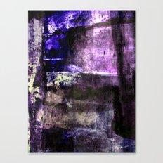 Purple Grunge Canvas Print