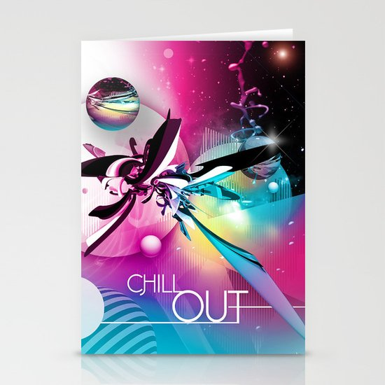 Chill Out Stationery Card