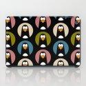 Polka Dot Penguins iPad Case