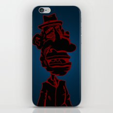 Distraught and Out in Red iPhone & iPod Skin