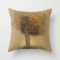 Another Autumn Throw Pillow