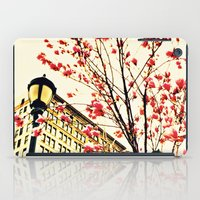 street blossoms iPad Case