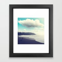 Flying the Clouds Framed Art Print