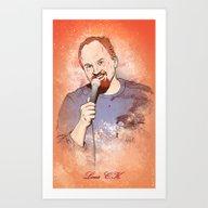 Make Me Laugh - Louis CK Art Print