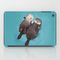 Otterly Romantic - Otter… iPad Case