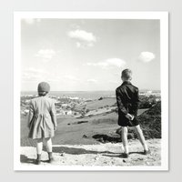 Look After Canvas Print