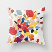 Color Study No. 2 Throw Pillow