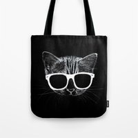 nightcat Tote Bag