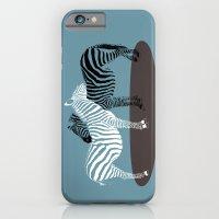 Zebra Embrace iPhone 6 Slim Case
