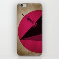 TETHRAEDON SUNSET iPhone & iPod Skin