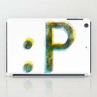 emoticon iPad Case
