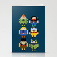 The Next Androids Stationery Cards