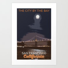 San Francisco Poster - City By The Bay Art Print