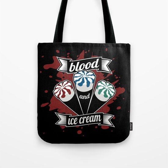 Blood & Ice Cream Tote Bag