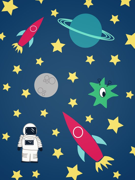Space Objective Art Print