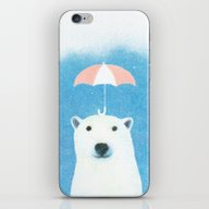 Say Hello Polar Bear iPhone & iPod Skin