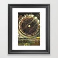 Ai Confini Dell'immagina… Framed Art Print