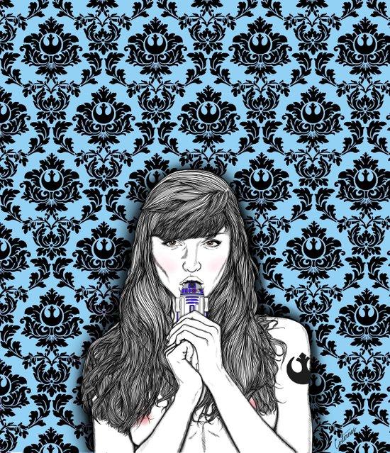 Love for the Rebellion Art Print