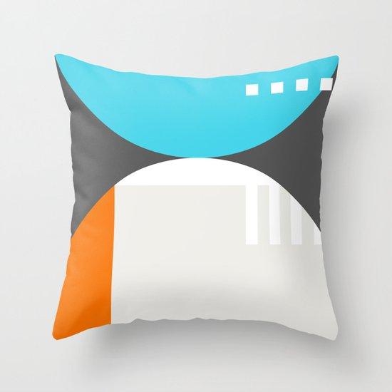 Spot Slice 01 Throw Pillow