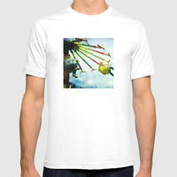 County Fair Mens Fitted Tee White SMALL