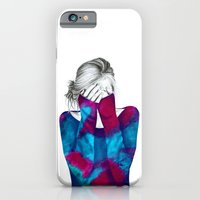 iPhone & iPod Case featuring Cosmic Girl 2 by Libby Watkins Illustration