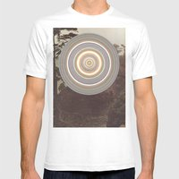 Washed Out Mens Fitted Tee White SMALL