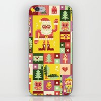 Christmas Geometric Patt… iPhone & iPod Skin