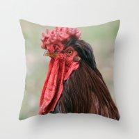 Le Coq Throw Pillow