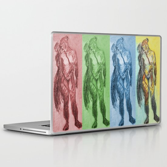 Untitled Figure Study Laptop & iPad Skin
