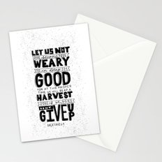 16/52: Galations 6:9 Stationery Cards
