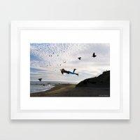 Free. Framed Art Print