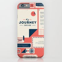 iPhone Cases featuring The Destination by Kavan and Co