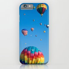 Vibrant Hot Air Balloons iPhone 6 Slim Case