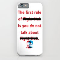 The First Rule of Fight Club... iPhone 6 Slim Case