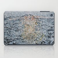 Swimming under the rain iPad Case