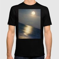 This Serious Moonlight Mens Fitted Tee Black SMALL