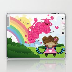 Cotton Candy can save the world!!! Laptop & iPad Skin