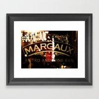 Margaux Framed Art Print