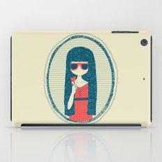 Lollipop girl iPad Case
